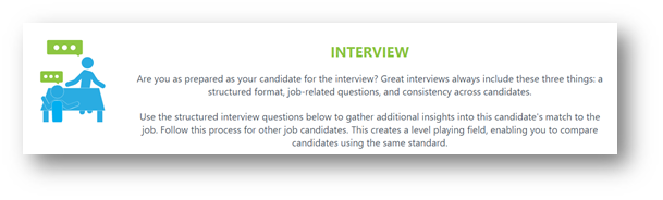 These Questions Are Dynamic And Generated Based On The Candidateu0027s  Performance On The Assessment. Each Hiring Profile Has Its Own Set Of Interview  Questions ...